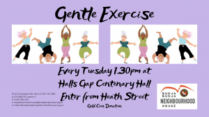 Move It Move It - Gentle Exercise @ Halls Gap Centenary Hall