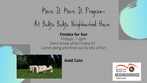 Move It Move It - Finska - Postponed @ Budja Budja Neighbourhood House