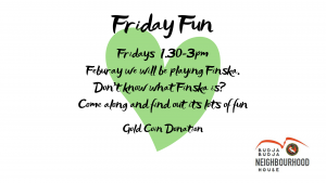 Move It Move It - Friday Fun @ Budja Budja Neighbourhood House